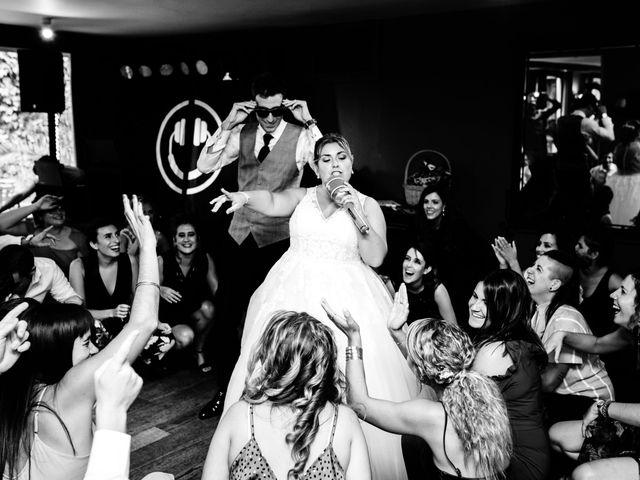 La boda de Mikel y Leire en Zumarraga, Guipúzcoa 89