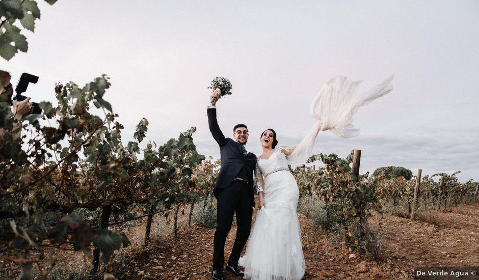 La boda de Francisco y Natalia en Bienvenida, Badajoz