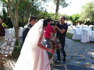 La boda de Guadalupe  y Genís  2