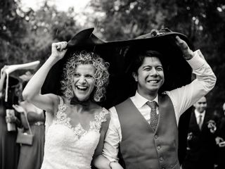 La boda de Claudia y Ray