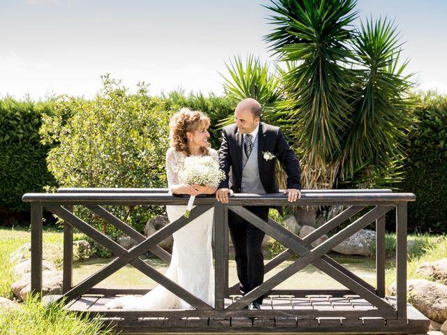 La boda de Joan y Maite en Santa Cristina D'aro, Girona 1