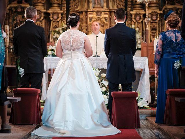 La boda de Daniel y Arancha en Outes, A Coruña 17