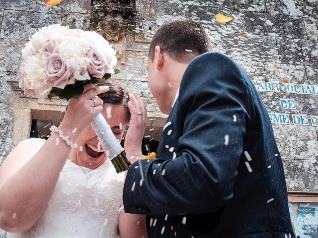 La boda de Daniel y Arancha en Outes, A Coruña 24