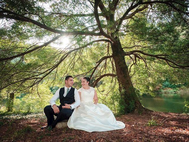 La boda de Daniel y Arancha en Outes, A Coruña 79