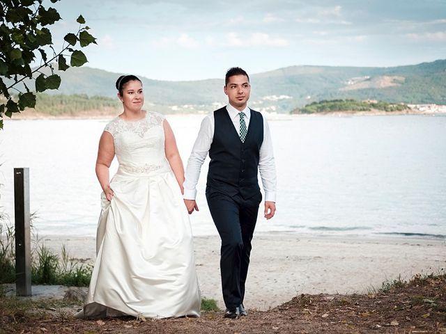 La boda de Daniel y Arancha en Outes, A Coruña 87
