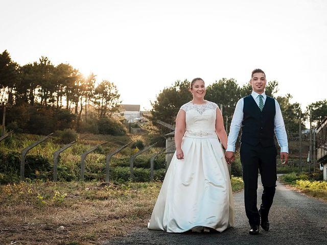 La boda de Daniel y Arancha en Outes, A Coruña 89