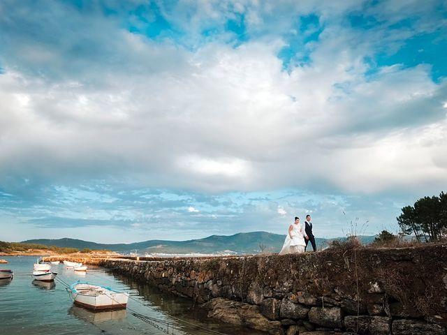 La boda de Daniel y Arancha en Outes, A Coruña 91