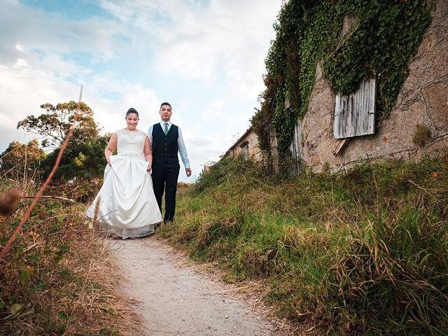 La boda de Daniel y Arancha en Outes, A Coruña 93