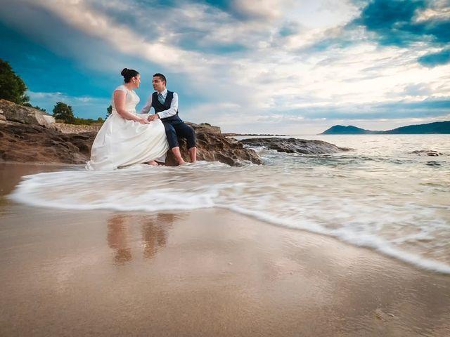 La boda de Daniel y Arancha en Outes, A Coruña 100
