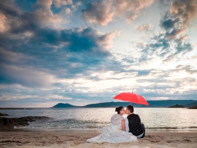 La boda de Daniel y Arancha en Outes, A Coruña 101