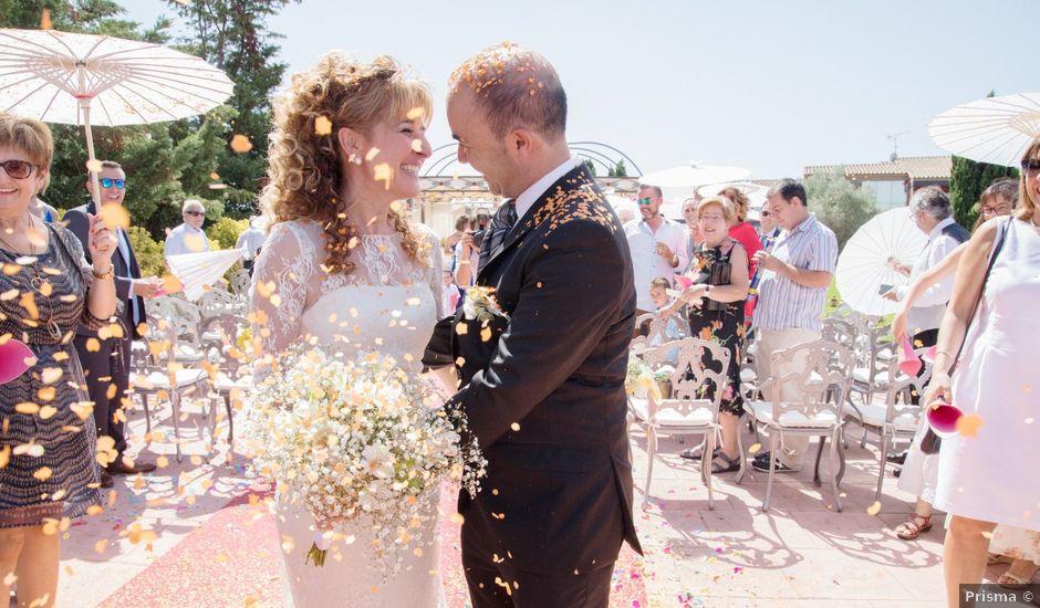 La boda de Joan y Maite en Santa Cristina D'aro, Girona