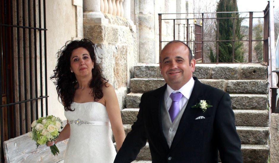 La boda de Ángel y Maite en Sotos De Sepulveda, Segovia
