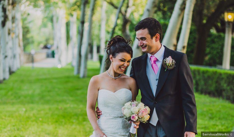 La boda de Iván y Sara en Madrid, Madrid