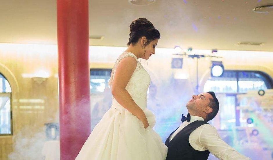 La boda de David y Andrea en Puente San Miguel, Cantabria