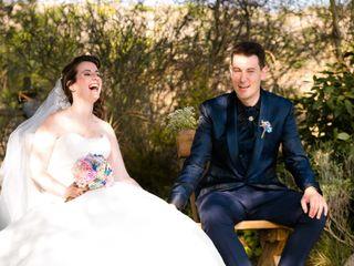 La boda de Adelma y Dani
