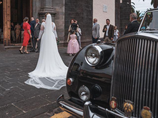 La boda de Omar y Lore en Puerto De La Cruz, Santa Cruz de Tenerife 9