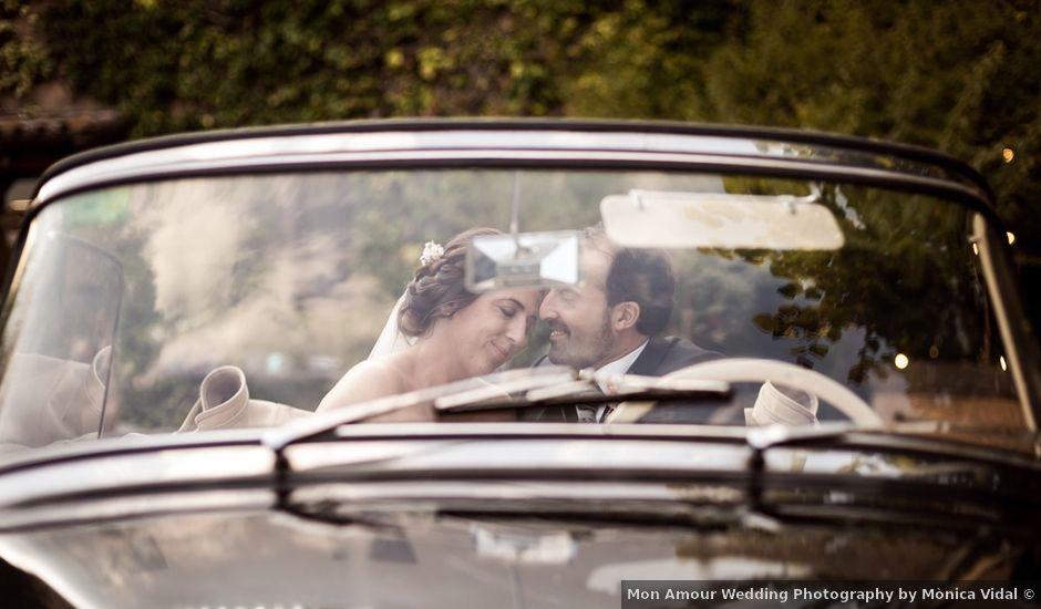La boda de Xavi y Mireia en Bigues, Barcelona