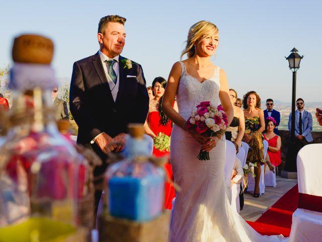 La boda de Melanie y Juanje