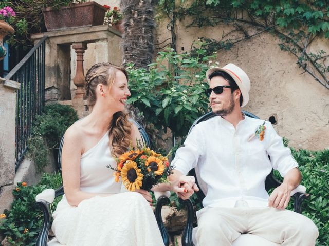 La boda de Oscar y Marta en Banyeres Del Penedes, Tarragona 1