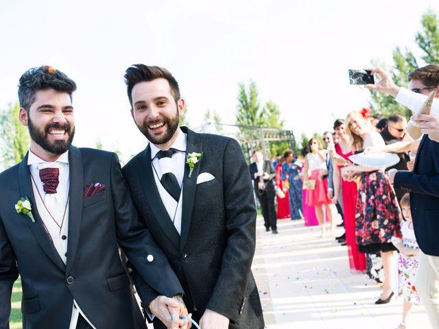 La boda de Luis y Fer