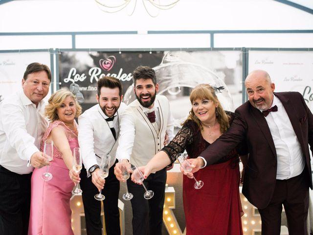 La boda de Fer y Luis en Aranjuez, Madrid 2