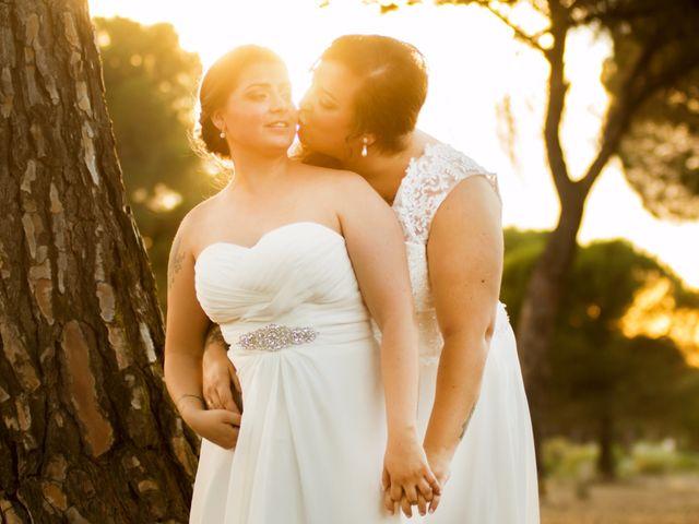 La boda de Samantha y Vanesa