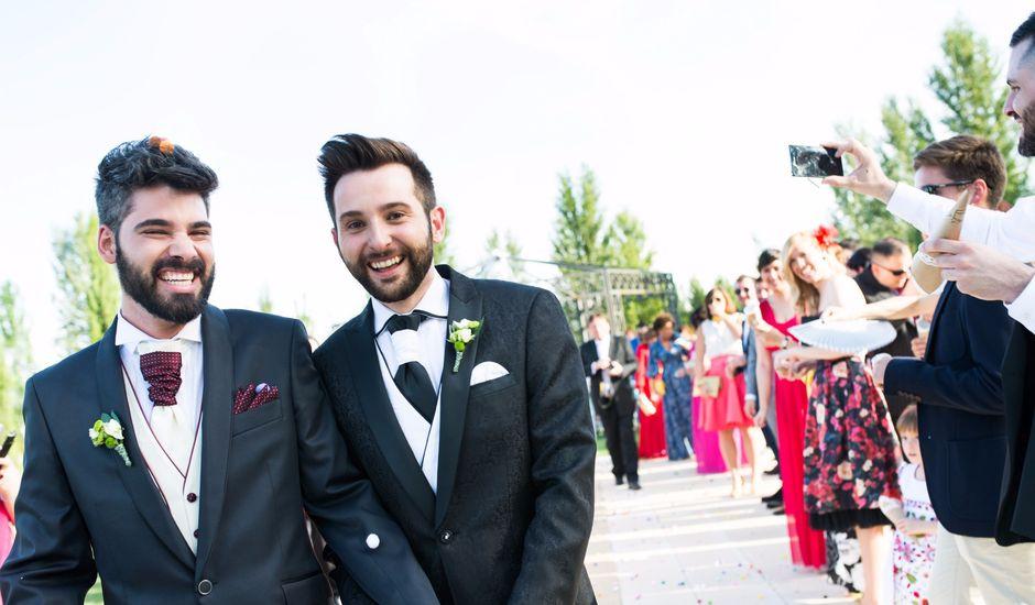 La boda de Fer y Luis en Aranjuez, Madrid