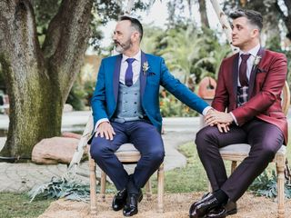 La boda de Alex y Fran