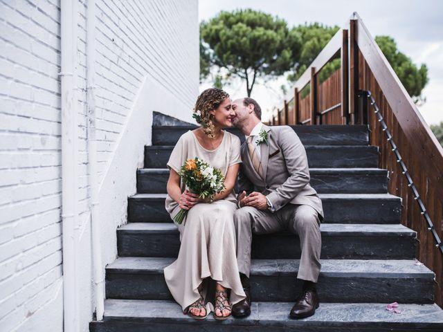 La boda de Eugenio y Manuela en Madrid, Madrid 1