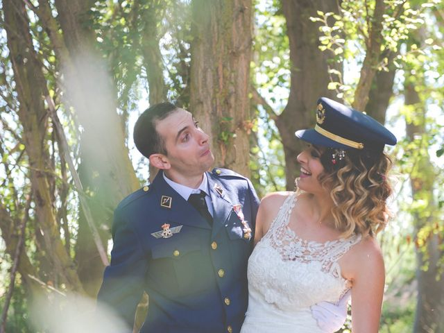 La boda de Jose y Zaira en Castillo De Magaz, Palencia 18