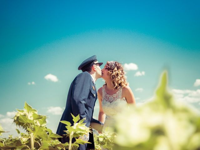 La boda de Jose y Zaira en Castillo De Magaz, Palencia 20
