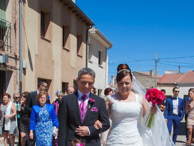 La boda de César y María en Cuellar, Segovia 13