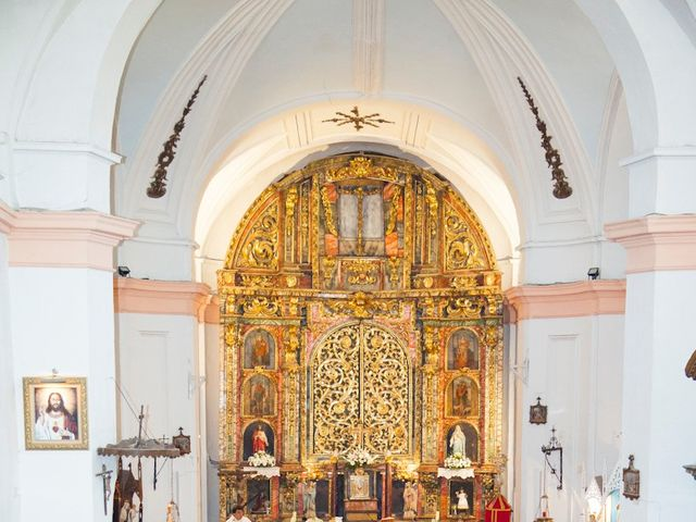 La boda de César y María en Cuellar, Segovia 17