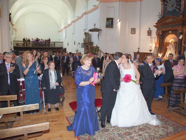 La boda de César y María en Cuellar, Segovia 20