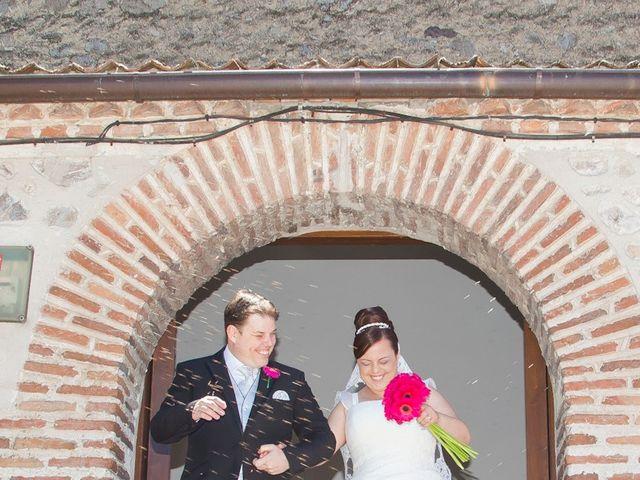 La boda de César y María en Cuellar, Segovia 21