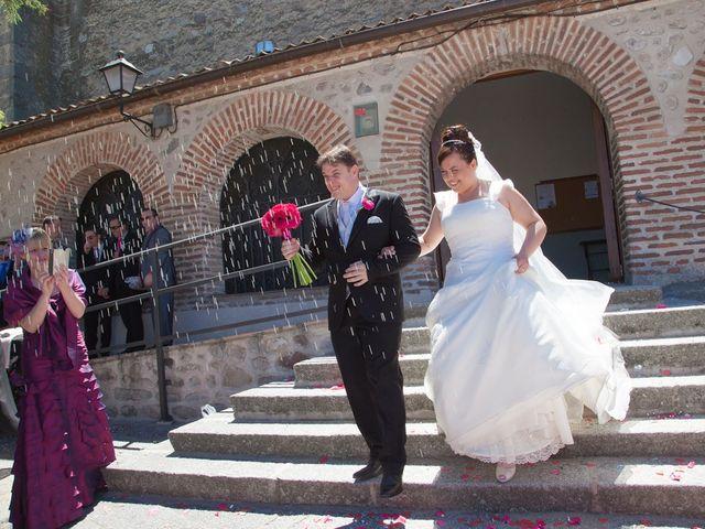 La boda de César y María en Cuellar, Segovia 22