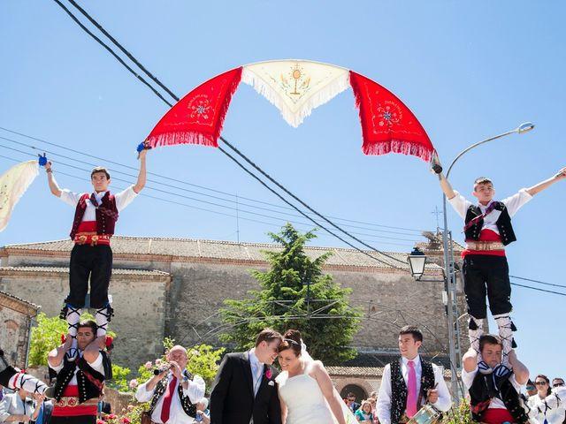 La boda de César y María en Cuellar, Segovia 24