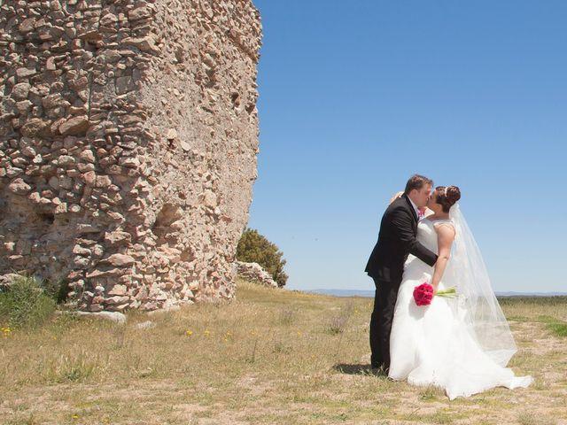La boda de César y María en Cuellar, Segovia 26