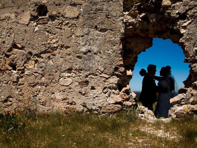 La boda de César y María en Cuellar, Segovia 28
