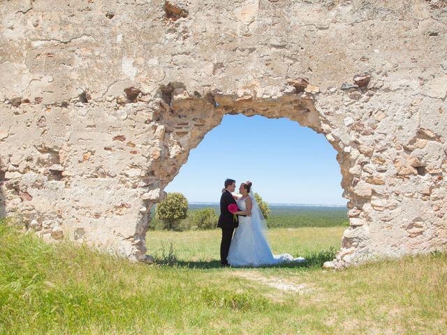 La boda de María y César