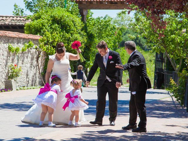 La boda de César y María en Cuellar, Segovia 38