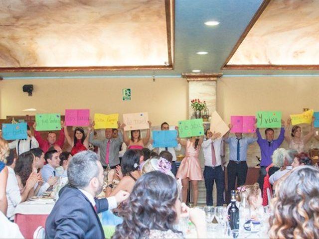 La boda de César y María en Cuellar, Segovia 42