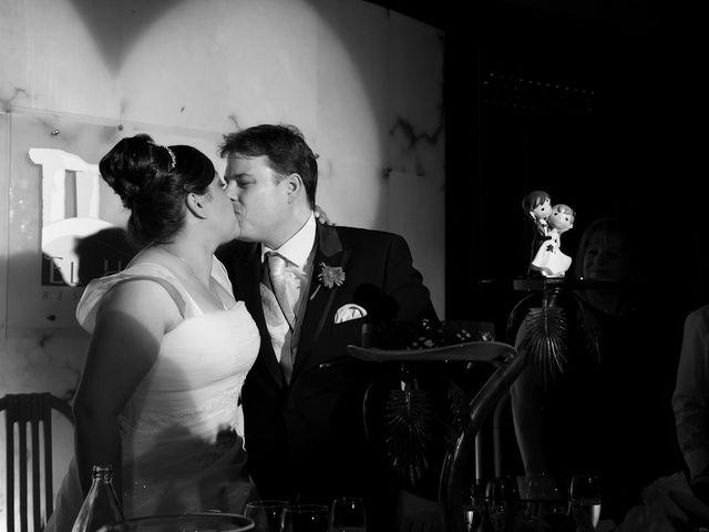La boda de César y María en Cuellar, Segovia 43