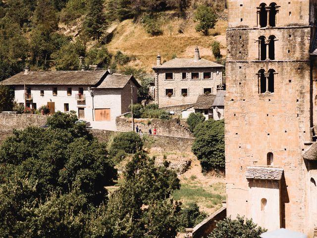 La boda de Diego y Isa en Santa Cruz De La Seros, Huesca 7