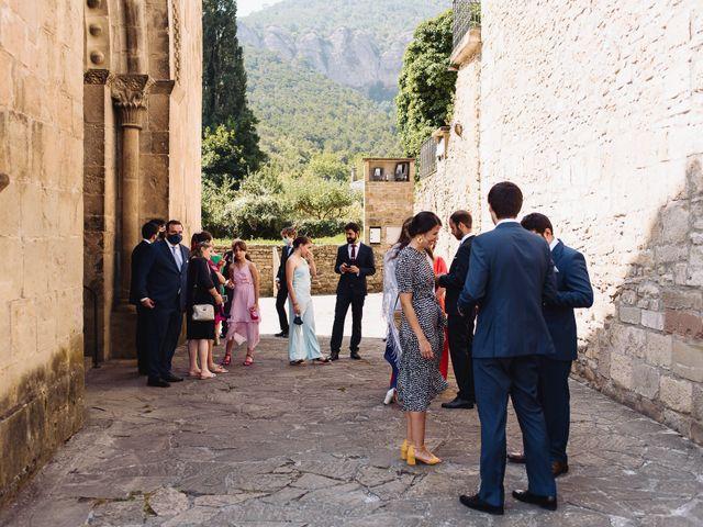 La boda de Diego y Isa en Santa Cruz De La Seros, Huesca 8