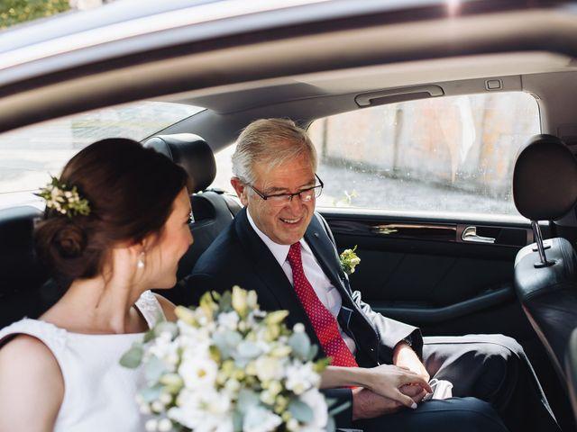 La boda de Diego y Isa en Santa Cruz De La Seros, Huesca 9