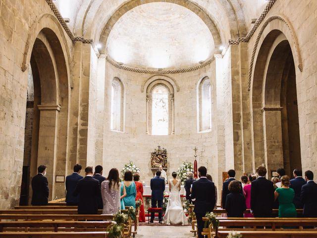 La boda de Diego y Isa en Santa Cruz De La Seros, Huesca 12