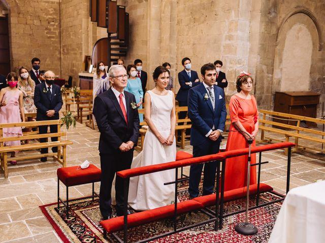 La boda de Diego y Isa en Santa Cruz De La Seros, Huesca 14