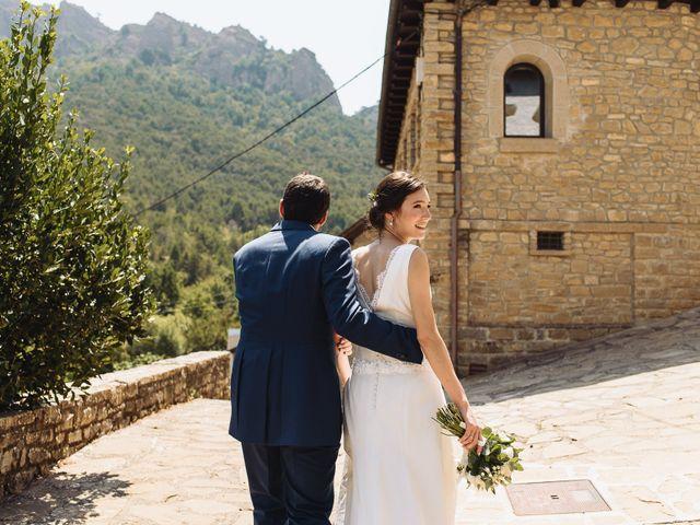 La boda de Diego y Isa en Santa Cruz De La Seros, Huesca 16
