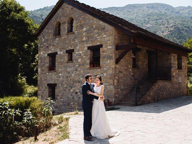 La boda de Diego y Isa en Santa Cruz De La Seros, Huesca 17